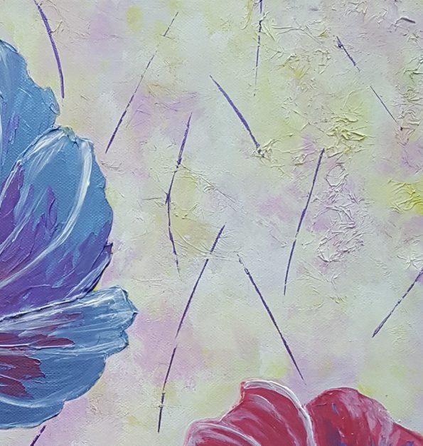 887_Sommerblumen, 40x40_10-2017