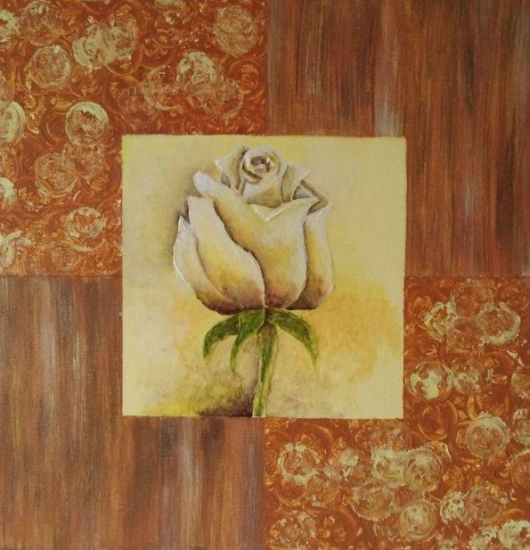 64 deko-rose 40x40cm